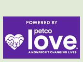 Proudly supported by Petco Love, a nonprofit changing lives