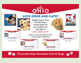 Pets Ohio License Plate link